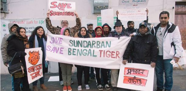 HSDN stands for solidarity to save Sundarban